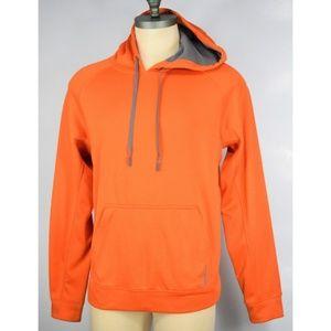 Reebok Orange Hoodie PLAYWARM Pullover Jack